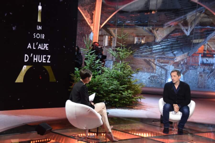 Gad Elmaleh fait partie des invités. Il était le Président du jury du Festival.