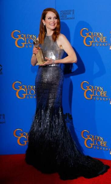 Julianne Moore, meilleure actrice dans un film dramatique avec Still Alice