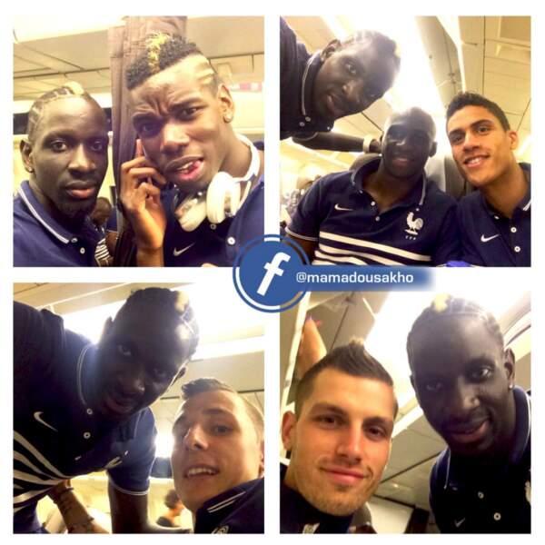 Dans l'avion du retour, Sakho a mitraillé ses coéquipiers, dont Paul Pogba, Eliaquim Mangala et Raphaël Varane