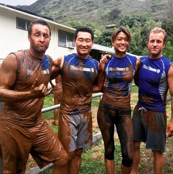 Les acteurs de Hawaii 5-0 ont donné de leur personne