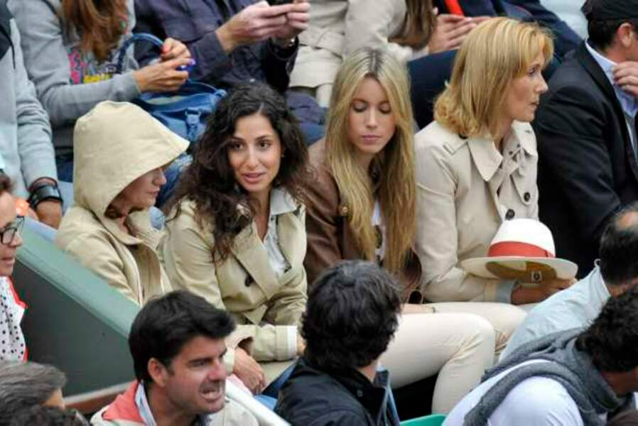 Xisca, la petite amie de Rafael Nadal, a savouré