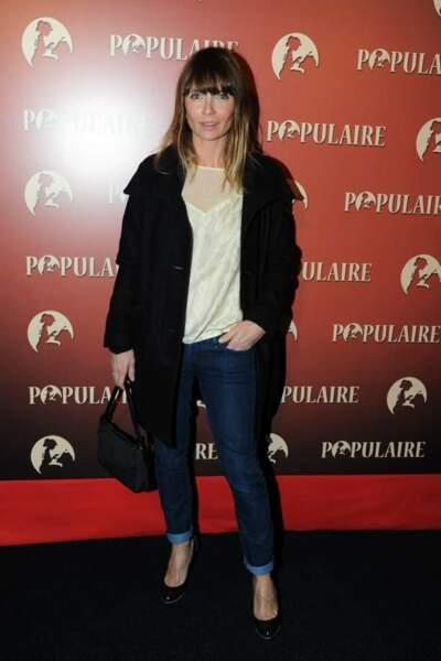 Axelle Laffont à l'avant-première de Populaire