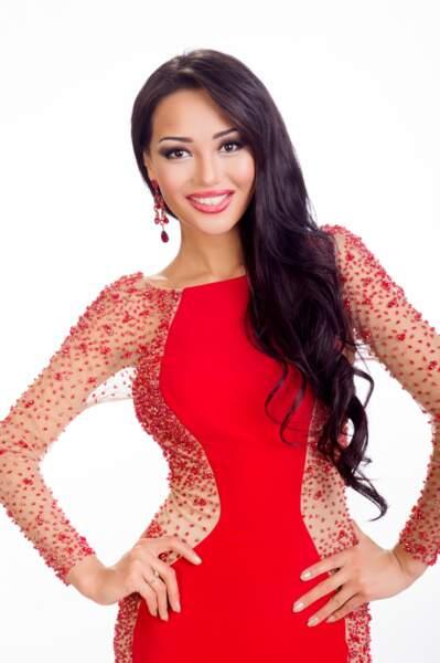 Aiday Issayeva, Miss Kazakhstan 2014
