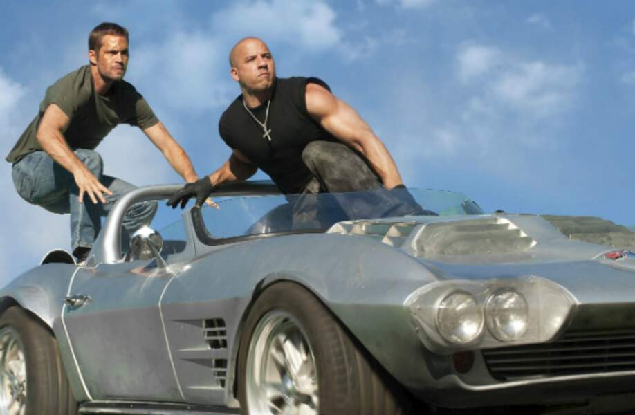 Paul Walker et Vin Diesel