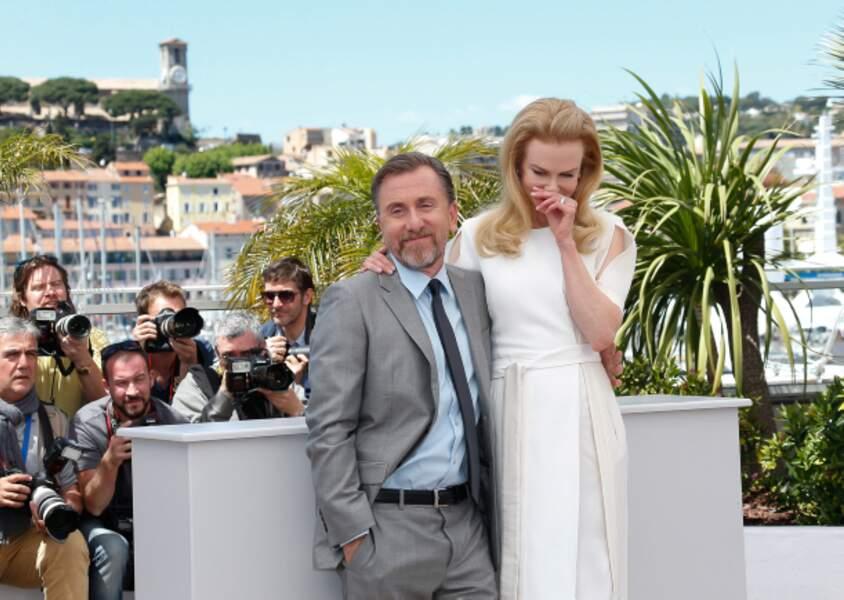 Nicole Kidman et Tim Roth :  Grace Kelly et le Prince Rainier