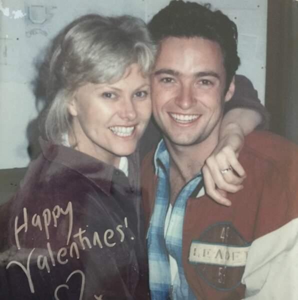 Hugh Jackman a posté une vieille photo de lui et Deborra-Lee Furness,son épouse depuis près de vingt ans