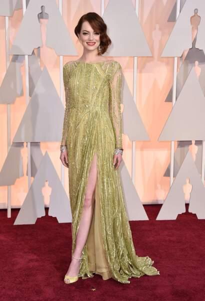 Et les fausses rousses alors ? Emma Stone, superstar au cinéma apparue dans la série culte Malcolm.