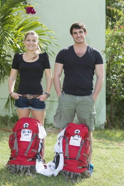 Julie et Denis prêts à vivre une grande aventure