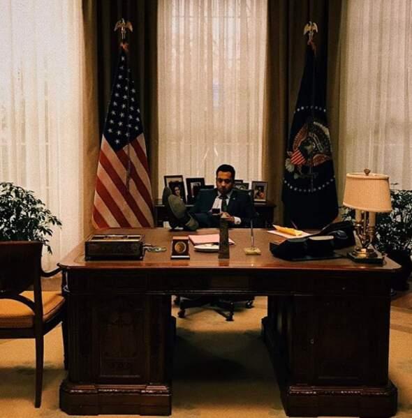 Kal Penn se sent comme chez lui dans le bureau du président de Designated Survivor