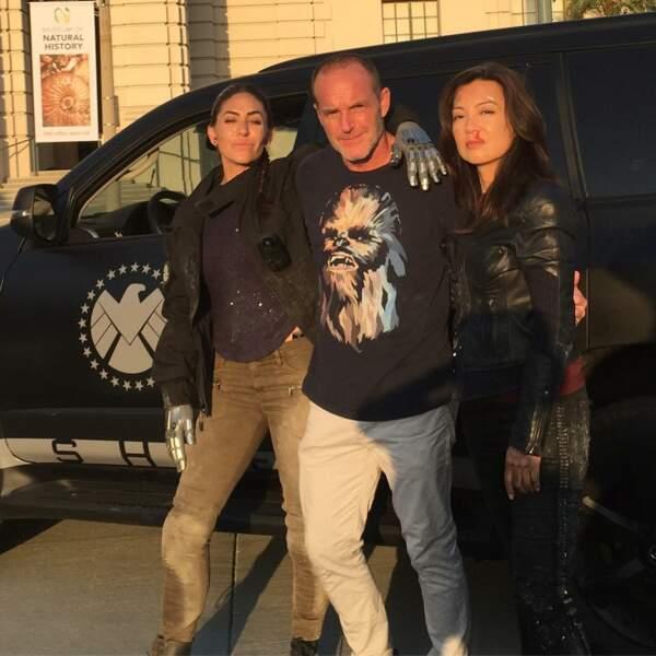 Comme souvent, Natalia Cordova, Clark Gregg et Ming-Na Wen, Les Agents du Shield, y ont laissé des plumes !