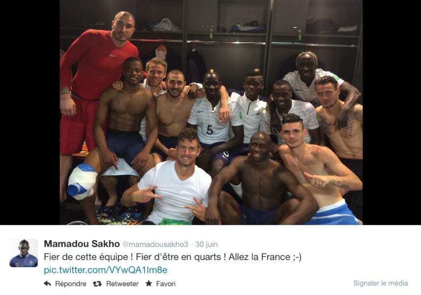La joie après la victoire face au Nigeria en huitième de finale