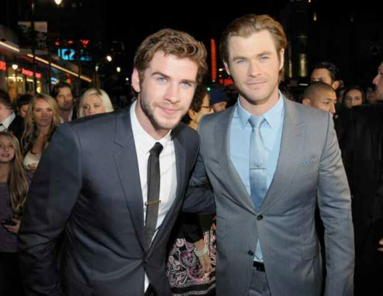 Liam et Chris Hemsworth
