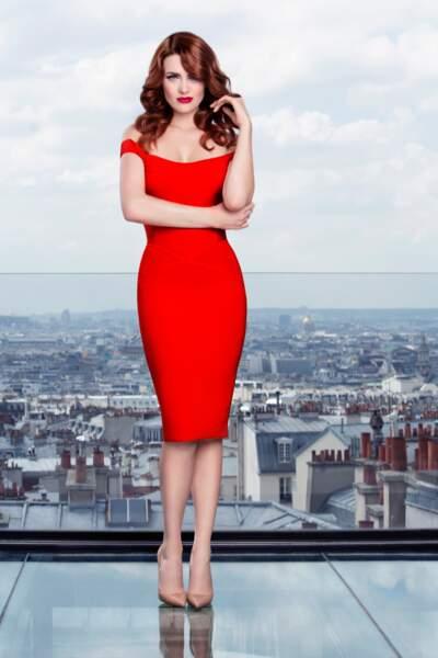 Elodie Frégé, jurée de Nouvelle Star sur D8
