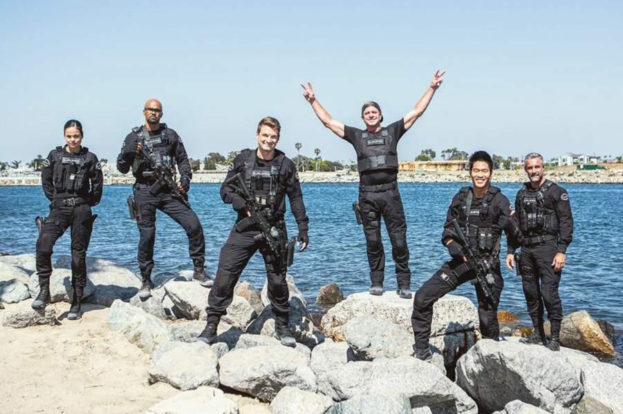 Nouvelle mission réussie pour les acteurs de SWAT : l'épisode est dans la boîte !