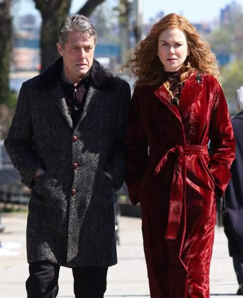 Nicole Kidman est de retour dans une nouvelle série, The Undoing. Elle donne la réplique à Hugh Grant