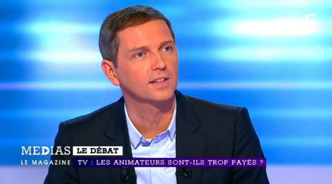 Thomas Hugues, après TF1, est passé sur iTELE et anime aujourd'hui Médias le Mag' sur France 5