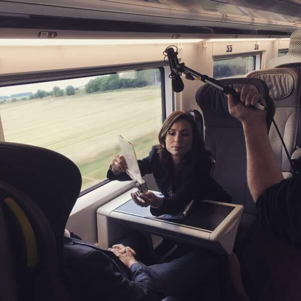 Séquence inhabituelle, dans le train : virée à Londres à bord de l'Eurostar !