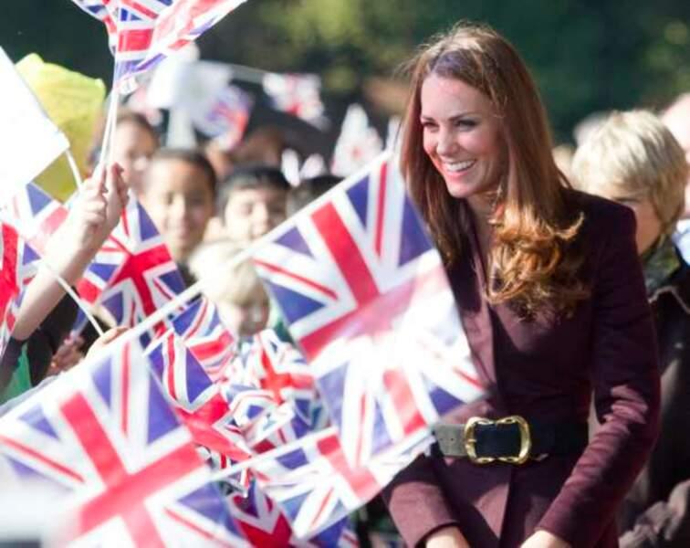 Kate suscite l'enthousiasme