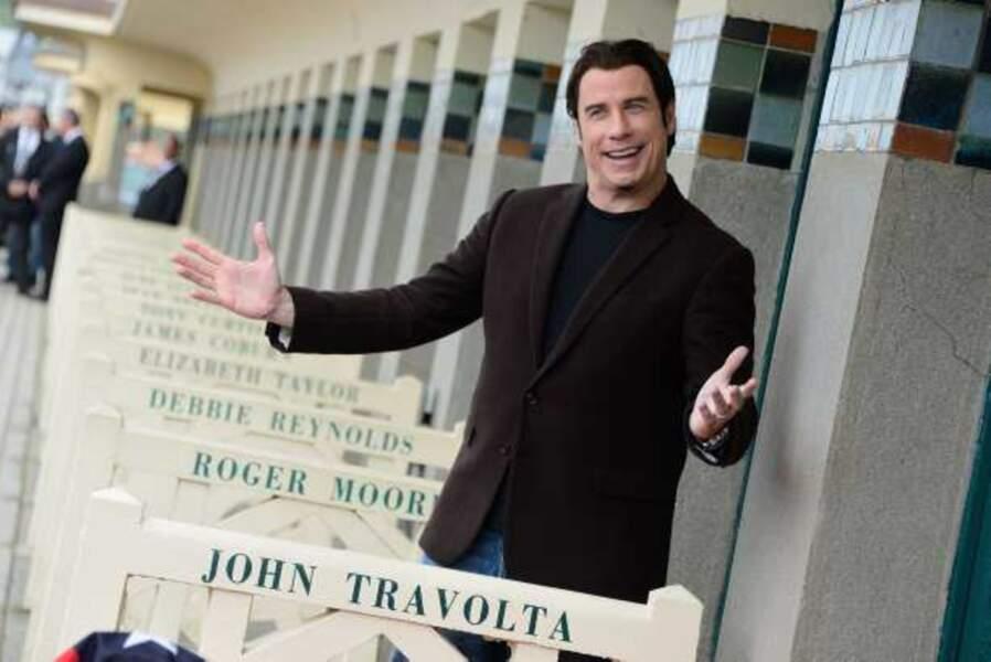 John Travolta inaugure sa cabine
