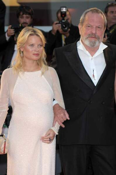 Mélanie Thierry et Terry Gilliam, le réalisateur de The Zero Theorem