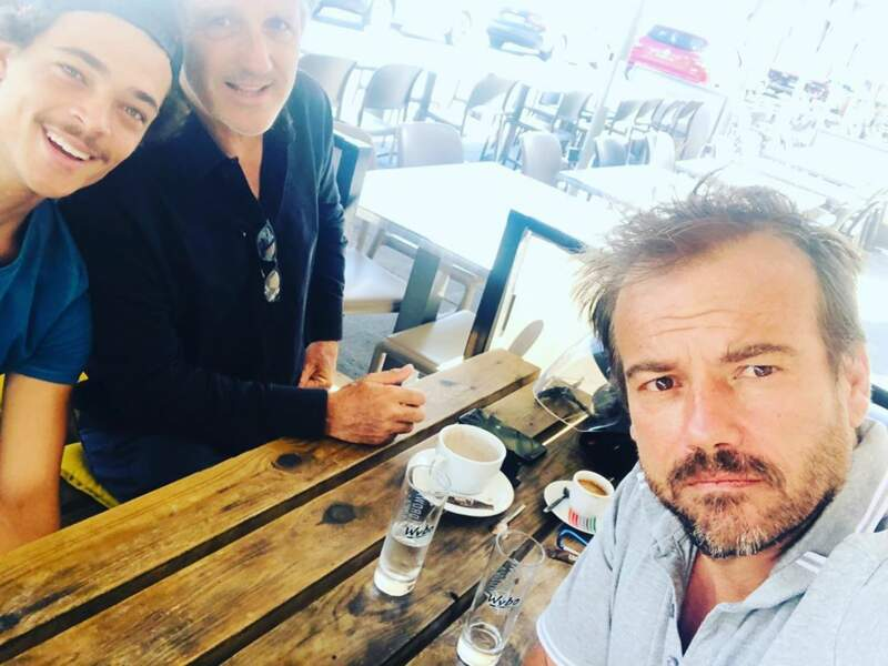 Cette photo avec Bryan Trésor, Stéphane Hénon avec Michel La Rosa annonce-t-elle le retour de celui-ci au Mistral ?