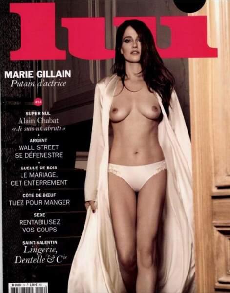 Marie Gillain est une putain d'actrice !