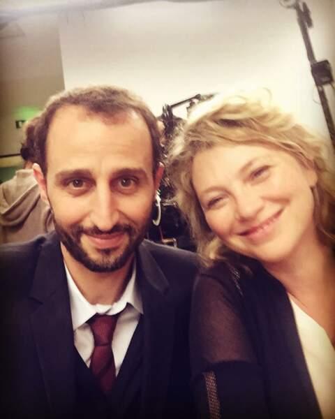 Cécile Bois et Arié Elmaleh tournent un téléfilm pour TF1, Tu vivras ma fille