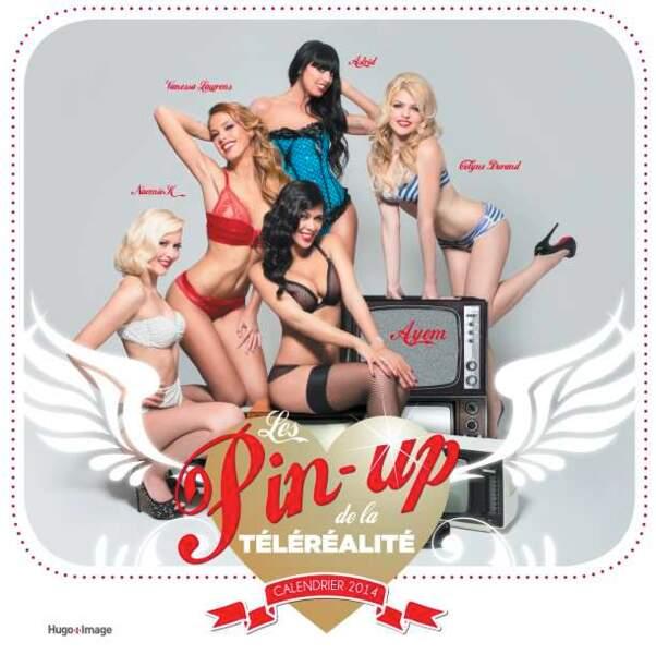 Calendrier Pin Up.Les Cliches Tres Sexy Du Calendrier Des Pin Up De La