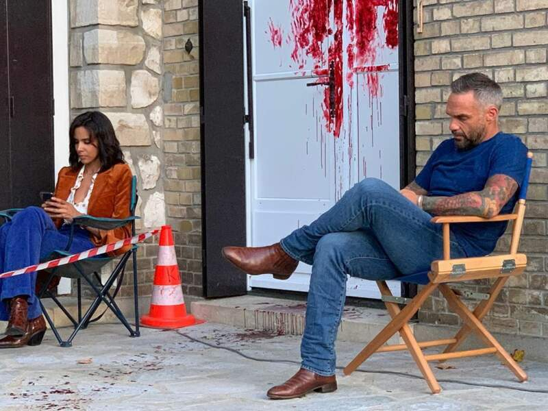 Repos pour les acteurs avant d'attaquer l'enquête : mais d'où vient tout ce sang ?