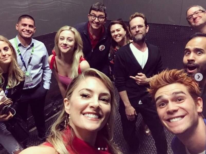 Le casting de Riverdale (Netflix) tout sourires !