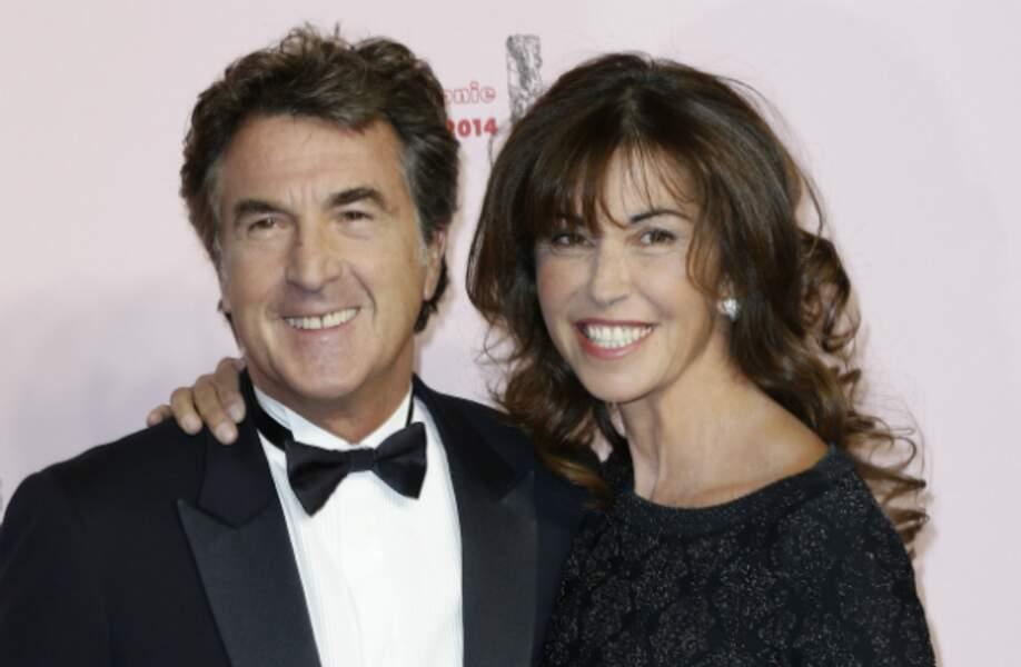 François Cluzet, président de cette 39e édition, était venu avec sa femme…
