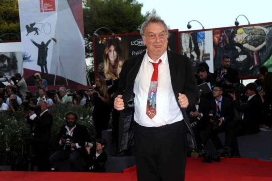 Stephen Frears, le réalisateur de Philomena et sa drôle de cravate