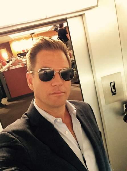 Michael Weatherly est de retour dans l'ascenseur de NCIS