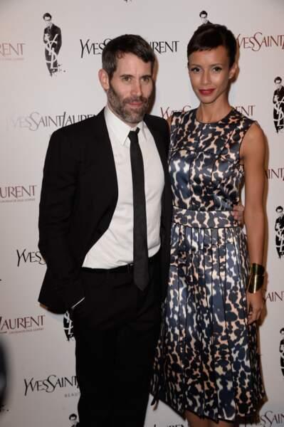 Jalil Lespert, le réalisateur, et sa compagne l'ex-Miss France Sonia Rolland