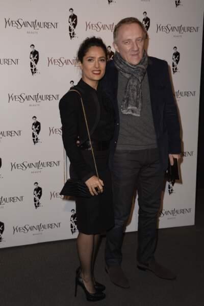 Salma Hayek et son mari François-Henri Pinault