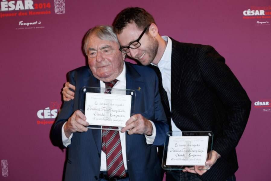 Claude Lanzmann - catégorie meilleur film documentaire pour Le Dernier des injustes