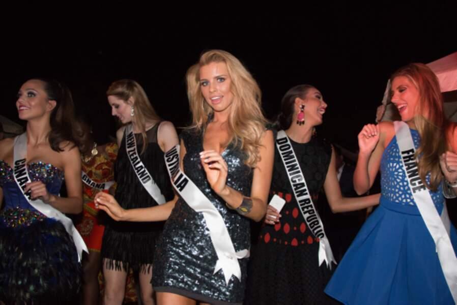Miss France est la reine de la piste de danse