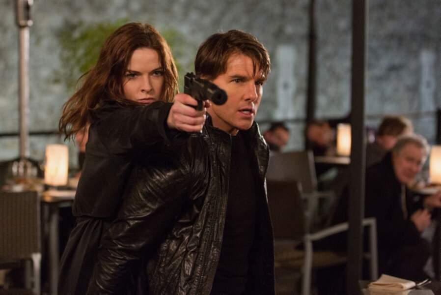 Mission : Impossible – Rogue Nation, avec Rebecca Ferguson (2015)
