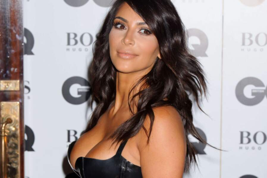 Kim Kardashian était brune, comme toutes les filles de sa famille