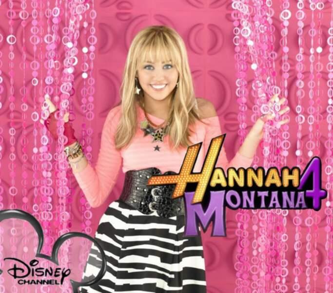 Miley Cyrus dans Hannah Montana (2006-2011)
