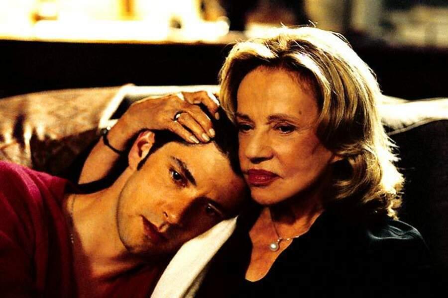 Jeanne Moreau dans Le temps qui reste (2005) : avec Melvil Poupaud