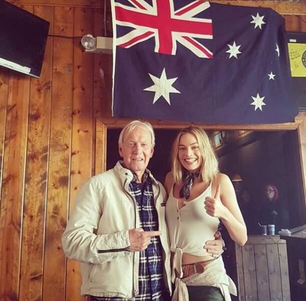 Margot Robbie est fière d'être australienne