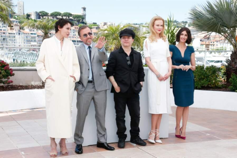 Jeanne Balibar, Tim Roth, Olivier Dahan, Nicole Kidman et Paz Vega