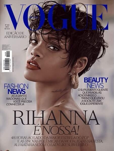 La une de Vogue Brésil, version 2.
