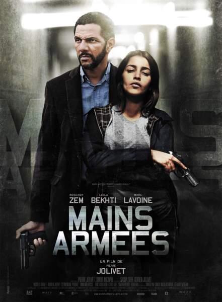 Dans Mains armées (2012), elle retrouve Roschdy Zem, mais en tant qu'acteur cette fois