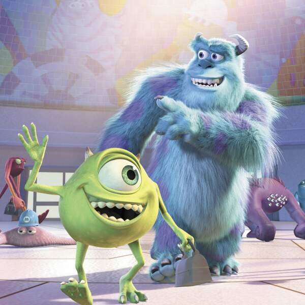 Sully et Bob, les stars de Monstres et Cie