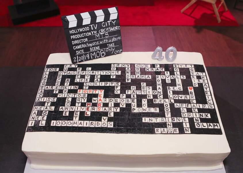 Sympa ce gâteau des Feux de l'amour !