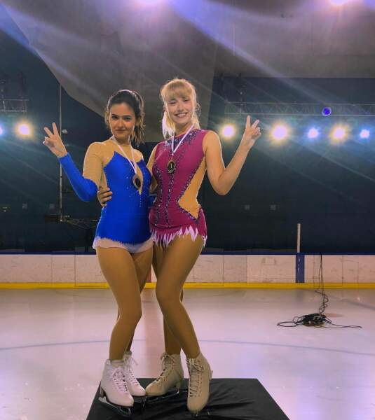 Chloé Jouannet a des talents de patineuse. C'est en tout ce qu'elle nous montrera dans Derby Girl
