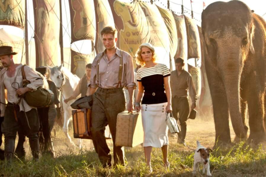 De l'eau pour les éléphants (2011) : écuyère amoureuse du vétérinaire Robert Pattinson