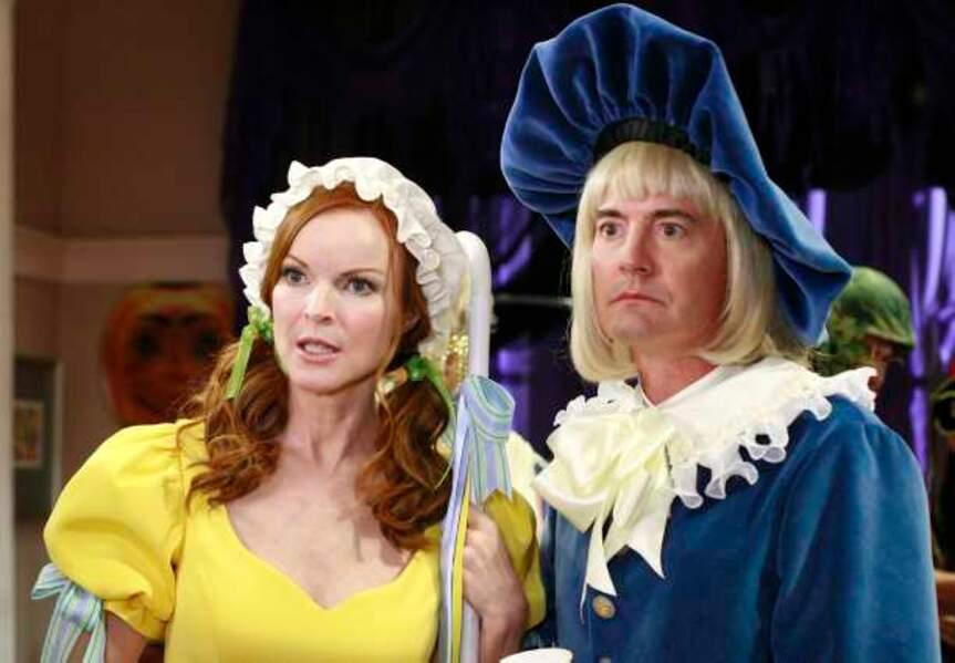 Desperate Housewives - Bree et Orson déguisés